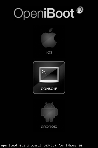 openiboot-android-iphone-ipad-ipod-touch-selection-screen