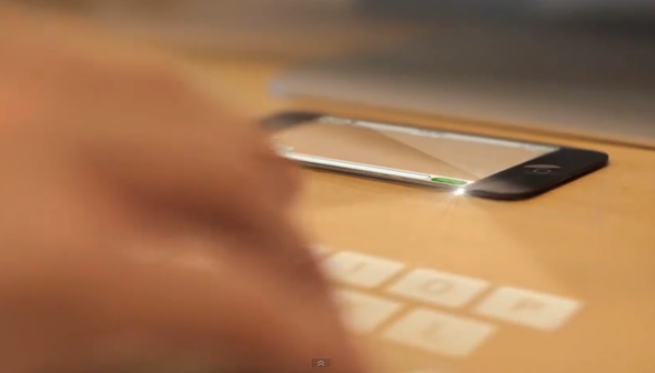 iPhone-5-Laser-Keyboard-concept