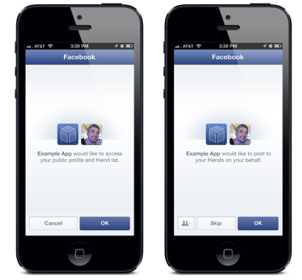 Facebook-SDK-3.5-data-and-publishing-permission-dialog