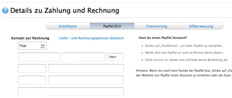 Online-Apple-Store-Germany-PayPal
