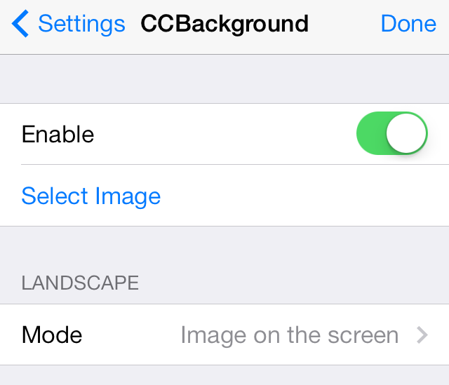 CCBackground-Settings