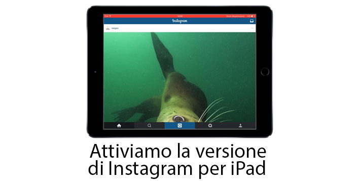 Instagram iPad