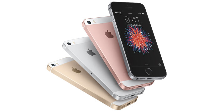 Apple presenta l'iPhone SE con display da 4 pollici