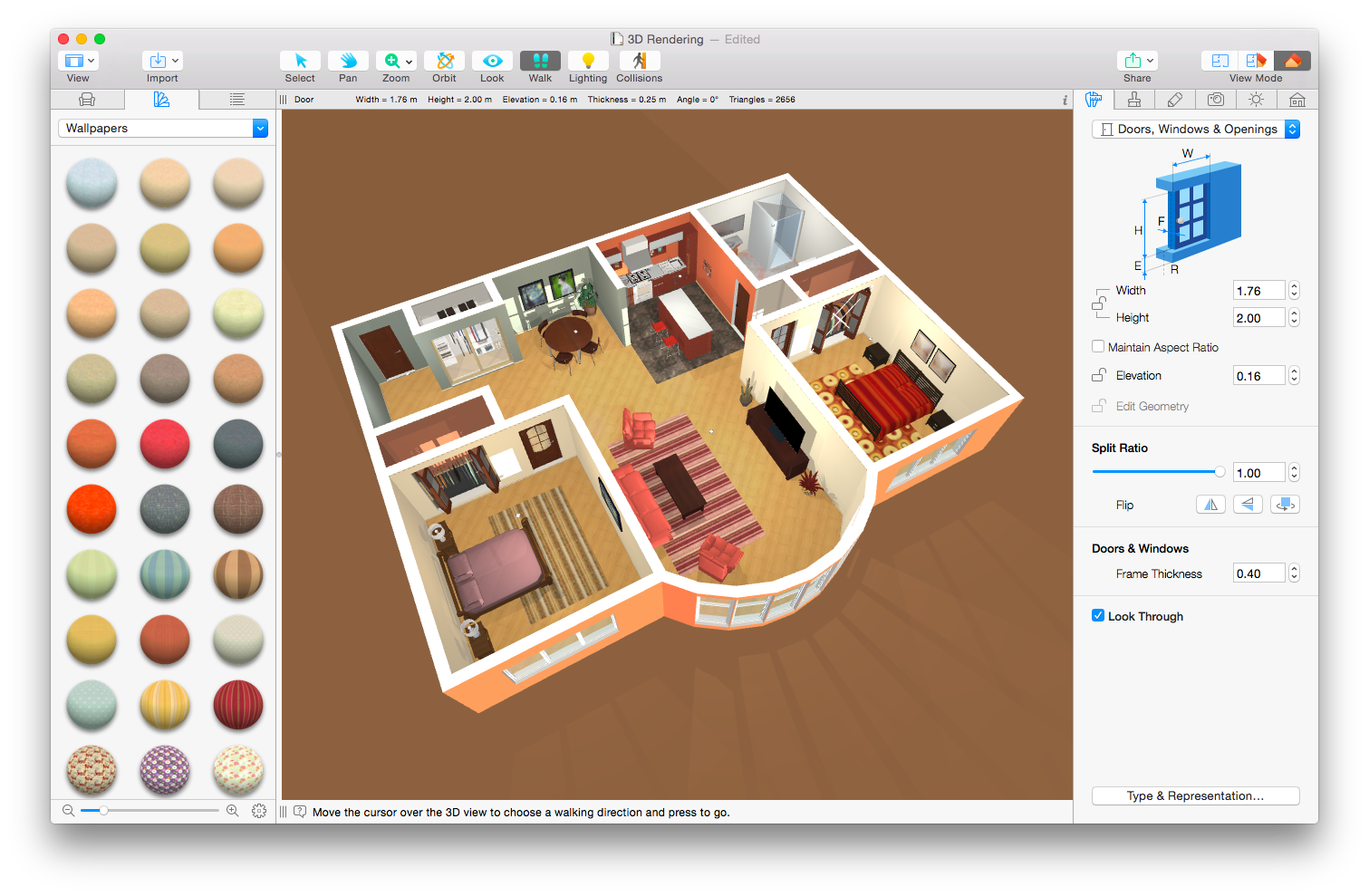 Belight software rilascia live home 3d for Recensioni di software planimetrie